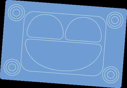 suction tray